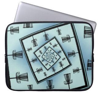 Housse Pour Ordinateur Portable Paniers de rotation de golf de disque