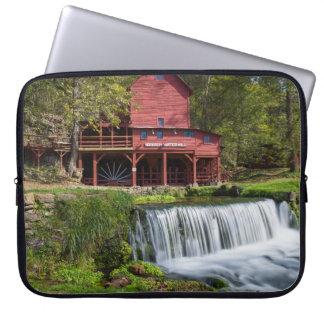 Housse Pour Ordinateur Portable Paysage de moulin de Hodgson