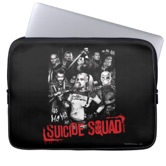 Housse Pour Ordinateur Portable Photo grunge de groupe du peloton | de suicide