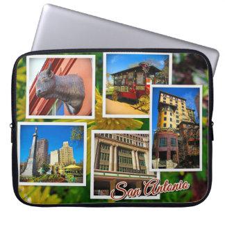 Housse Pour Ordinateur Portable Photos de voyage de San Antonio le Texas