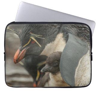 Housse Pour Ordinateur Portable Pingouin et poussin de Rockhopper