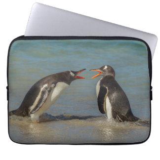 Housse Pour Ordinateur Portable Pingouins discutant, Îles Falkland