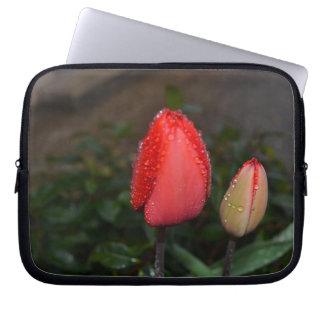 Housse Pour Ordinateur Portable Pochette ordinateur Tulipes