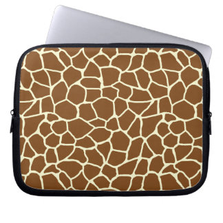 Housse Pour Ordinateur Portable Poster de animal sauvage de motif de girafe
