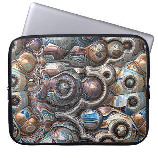 Housse Pour Ordinateur Portable réflexions 3D de cuivre