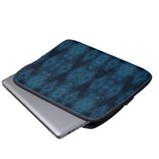 Housse Pour Ordinateur Portable Résumé assez bleu et noir