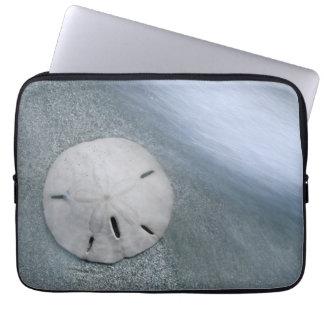 Housse Pour Ordinateur Portable Sanddollar sur l'île de la plage | Sanibel, la