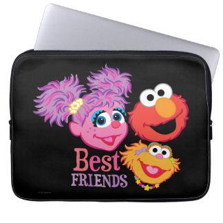 Housse Pour Ordinateur Portable Sesame Street de meilleurs amis