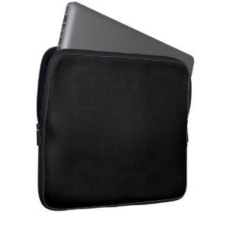 Housse Pour Ordinateur Portable Seulement couleur solide noire fraîche OSCB18