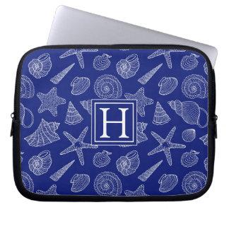 Housse Pour Ordinateur Portable Shell bleu lumineux modèlent | ajoutent votre