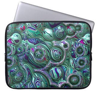 Housse Pour Ordinateur Portable Tache floue colorée du résumé 3D