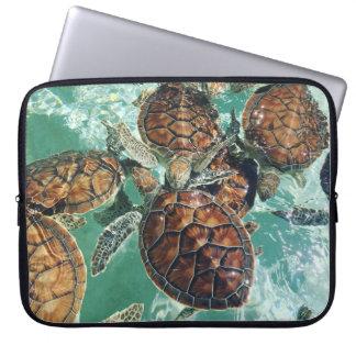 Housse Pour Ordinateur Portable Tortues tropicales - photographie de Kimberly