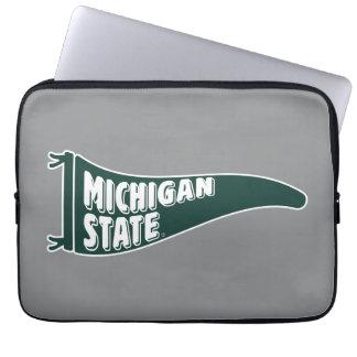 Housse Pour Ordinateur Portable Université de l'Etat d'État du Michigan de MSU