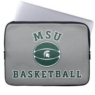 Housse Pour Ordinateur Portable Université de l'Etat d'État du Michigan du
