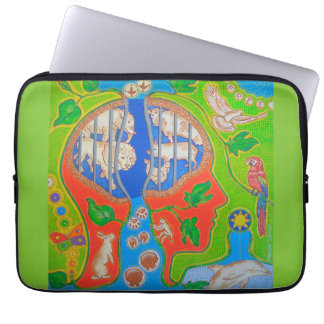 Housse Pour Ordinateur Portable Vegan animal liberation computer cover