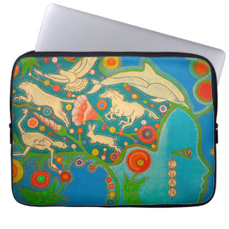 Housse Pour Ordinateur Portable Vegan free hair animals computer cover
