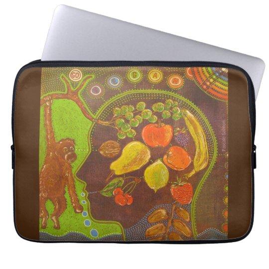 Housse Pour Ordinateur Portable Vegan fruits computer cover