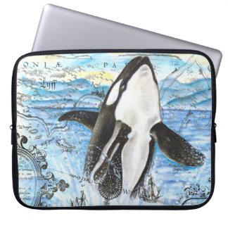 Housse Pour Ordinateur Portable Violation de la carte antique d'orque
