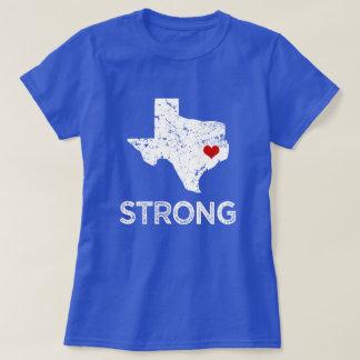 Houston fort, ouragan Harvey disant les femmes T-shirt