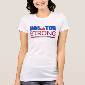 Houston fort - T-shirt de soulagement de Harvey