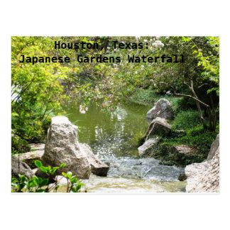 Houston, le Texas : Le Japonais fait du jardinage Carte Postale