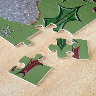 Houx d'anges de vacances puzzle