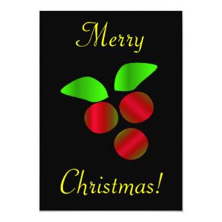 Houx de Noël Faire-parts