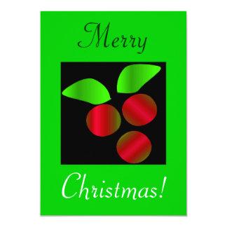 Houx de Noël I Invitations