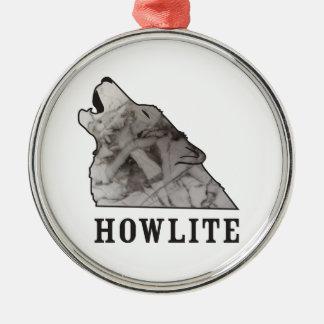 howlite.ai ornement rond argenté
