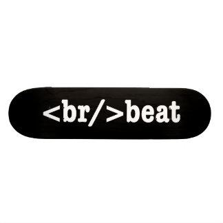 HTML de breakbeat Plateaux De Skate