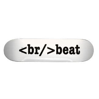 HTML de breakbeat Skateoard Personnalisé