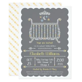 Huche élégante - invitation de baby shower
