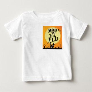 Huez à la grippe t-shirt pour bébé
