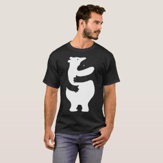 "Huggers ""copie blanche "" t-shirt"