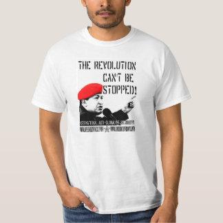 Hugo Chavez :  La révolution ne peut pas être T-shirt