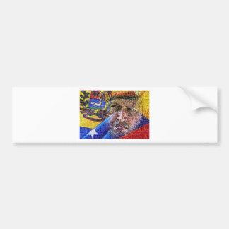 Hugo Chavez - le Venezuela Adhésif Pour Voiture