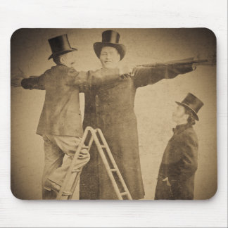 Hugo la photo vintage géante de Wendt de phénomène Tapis De Souris
