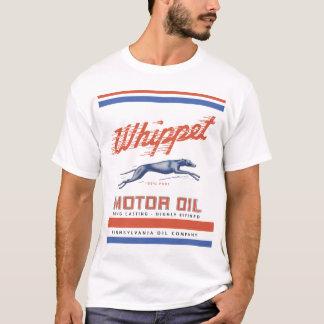 Huile de moteur de whippet t-shirt