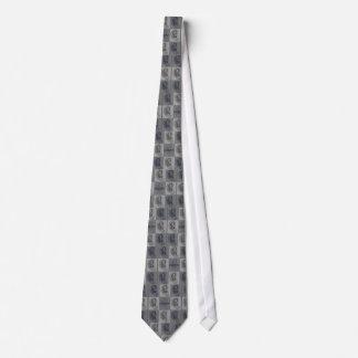 Huit oreilles graphiques cravate