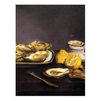 Huîtres - Édouard Manet Cartes Postales