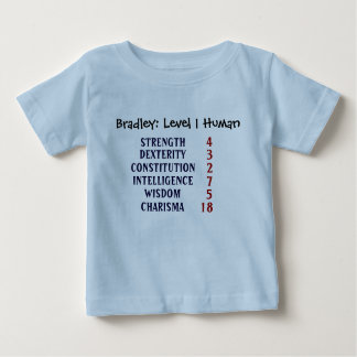 Humain du niveau 1 t-shirt pour bébé