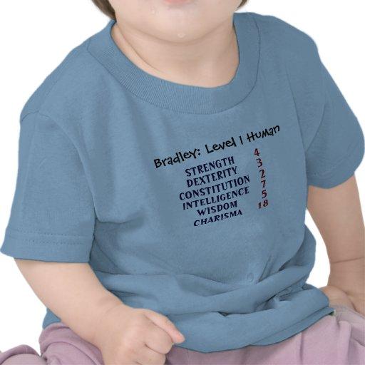 Humain du niveau 1 t-shirts