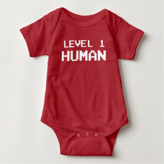 Humain du niveau un de Gamer - chemise de jeu Body