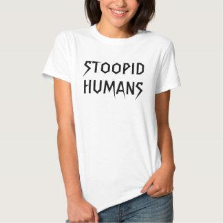 Humains de Stoopid (bébé - poupée) T-shirts