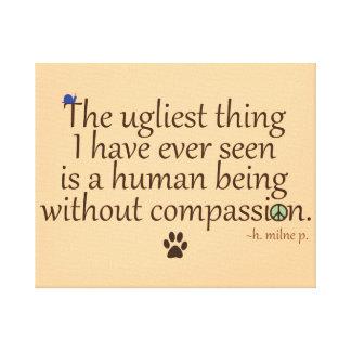 Humains sans compassion impressions sur toile