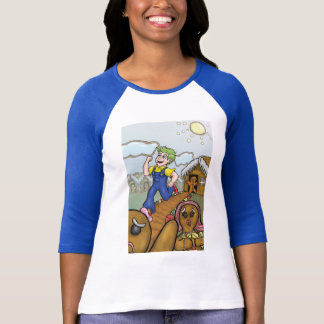 Humanbreadman 3/4 chemise de douille t-shirt