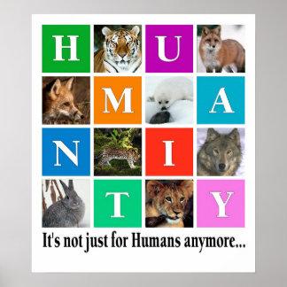 Humanité, c'est désormais notjust pour des humains affiche