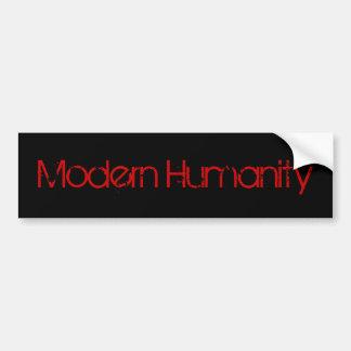Humanité moderne adhésifs pour voiture