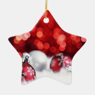 Humeur de Noël de Delood Ornement Étoile En Céramique