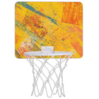 Humeur lumineuse. Mini but de basket-ball Mini-panier De Basket